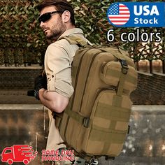 Outdoor Shoulder Military Tactical Backpack Travel Camping Hiking Bag 30*)Price that is l( 19.98 Payments: Ends on : The post Exterior Shoulder Military Tactical Backpack Travel Camping Hiking Bag … appeared first on BookCheapTravels.com.