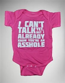 lmfao! Thank god I am not having anymore kids, I would be the most offensive mom now lol :)