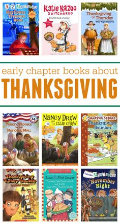List of Early Chapter Books About Thanksgiving from Scholastic.com