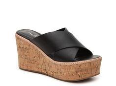 Women's Aldo Lateefa Wedge Sandal - Black