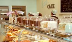 Susie Cakes -- cute bakery chain in California . Cupcake Shops, Cupcake Cakes, Old Fashioned Chocolate Cake, Cute Bakery, Susie Cakes, Best Cake Ever, Bakery Display, Gastro, Bakery Business