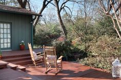 """What's one of the biggest trends """"on deck"""" is this year? Color! Give your deck a makeover with a new coat of waterproofing deck stain!"""