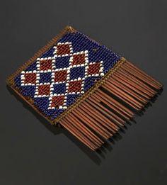 Yao comb, Malawi, 1897  National Museums Scotland, Edinburgh