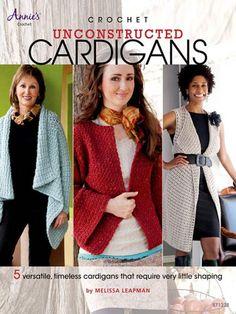 Maggie's Crochet · Crochet Unconstructed Cardigans