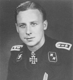 Ernst Barkmann WW2 German tank ace