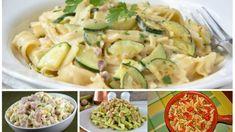 Těstoviny pro štíhlý pás: 7 nejlepších fit receptů z těstovin, které vás dostanou do formy a chutnají skvěle! Fusilli, Potato Salad, Zucchini, Potatoes, Treats, Vegetables, Ethnic Recipes, Fit, Cooking