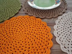 Mitricot: Crochet  placemats