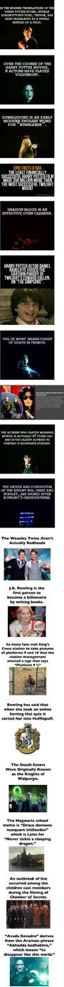 Facts You May Not Know About Harry Potter