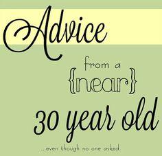 Brilliant advice!