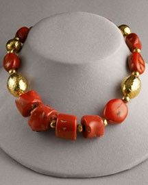 JOSE AND MARIA BARRERA JEWELRY NORDSTOM | Jose & Maria Barrera Coral-Bead Necklace review at Kaboodle