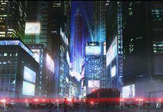 night concept art future - Google Search