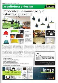 84° Jornal Bom Dia- Pendentes iluminação que valoriza o ambiente 05-04-13