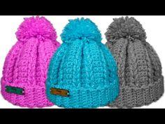 Crochet Beanie Hat, Crochet Shawl, Crochet Stitches, Stitch Patterns, Knitting Patterns, Crochet Patterns, Crochet Gifts, Crochet Baby, Crochet Videos