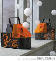 Bubble Fogger -- I need to place these strategically throughout my wedding... and my house... and while I'm shopping... yeah.