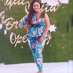 Beautiful Ankara Styles For Church African Print Jumpsuit, African Print Dresses, African Print Fashion, Ankara Fashion, African Prints, African Dress, Beautiful Ankara Gowns, Beautiful Ankara Styles, Ankara Blouse