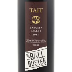 TAIT THE BALL BUSTER RED 2011 | $24.95 | A rich, powerful wine that starts with blueberries and smoked woodchips on the nose, dark fruit on the palate, and a long, dry, building finish. Unfortunately, it lacks the complexity a $25 wine should have. ★★★