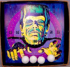 1963 Hasbro Frankenstein Horror Target