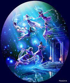 The Seven Sisters (Pleiades) -Kagaya