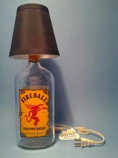 ( FireBall ) Table Lamp Black