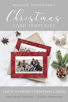 Spread some holiday cheer this season with a Christmas Card Template. You can quickly and easily edit your photo card online in your web browser, then download and print right away!  Christmas Card Template | Christmas Cards Template 5x7 | Photo Christmas Card | Editable Christmas Card | Holiday Card Templates  #christmascards #christmastemplate #christmascard #christmascardtemplates, #photochristmascard #holidaycard #editablechristmascard #holidayphotocard, #christmasprintable Free Printable Christmas Cards, Christmas Card Template, Christmas Photo Cards, Christmas Printables, Holiday Cards, Christian Cards, Merry Christmas And Happy New Year, Web Browser, Cheer