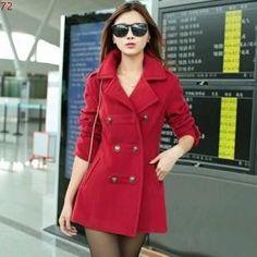 New Autumn Winter women Coats Slim Women's woolen coats jackets female jacket Fashion Lady Outerwear & Coats
