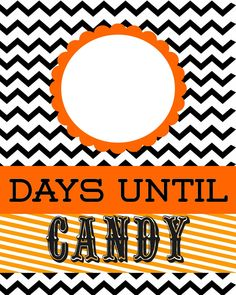 Detail-Oriented Diva!: Countdown to Candy