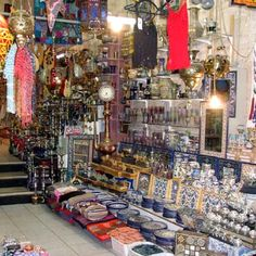 What does a cross between a Turkish bazaar and a standard American tourist shop look like? Kind of like this. Cairo Tower, Walking Tour, Mosque, All Over The World, Trip Advisor, Egypt, Times Square, Bazaars, Jerusalem