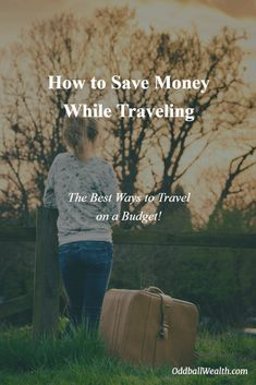 How to Save Money While Traveling. The Best Ways to Travel on a Budget! Managing Your Money, Make Money Blogging, Saving Money, Ways To Save Money, Money Tips, Travel Money, Budget Travel, Travel Ideas, Travel Tips