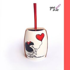 Posca, Ecuador, Projects, Instagram, Decorative Vases, Wooden Bowls, Painted Trays, Decorating Cups, Decorated Flower Pots