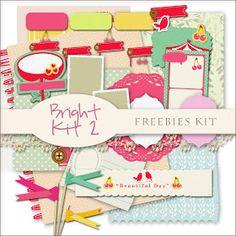 Scrap. DOT: Freebies Bright Kit 2
