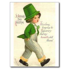 St. Patrick Dag Wens Kaarten
