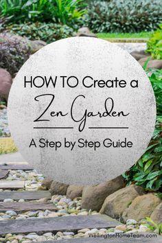 How to Create a Zen Garden - Step by Step Guide #zengarden #meditation #zen #garden #landscaping #howto #diy