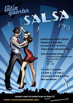 Christmas Latin Quarter Party classes & night - Tue 14th Dec
