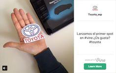 First #Vine Ad - Toyota Esp