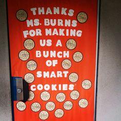 Teacher Appreciation Week: Door decorating