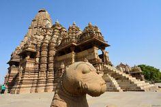 Popular on 500px : Kandariya Mahadeva Temple : View from lions corner by AnatolyBerman