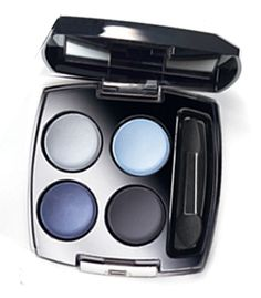 Avon True Color Eyeshadow Quad looks just like Channel quad but at a fraction of the price.