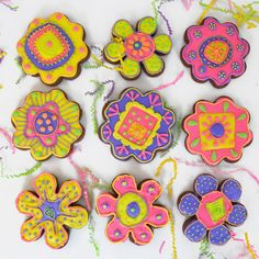 Cut out cookies with Royal Icing!