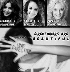 You're all beautiful Directioners....<3