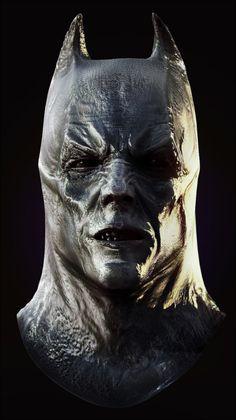 Zbrush4 Demon Bat bust by ~alexanderstojanov on deviantART