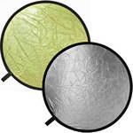 "Impact Collapsible Circular Reflector Disc - Gold/Silver - 32"". Get those catchlights!"