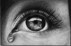 60 Beautiful and Realistic Pencil Drawings of Eyes - Part 2 - 7 best eye pencil drawing Eye Pencil Drawing, Realistic Pencil Drawings, Pencil Shading, Pencil Drawing Tutorials, Drawing Eyes, Easy Drawings, Eye Sketch, Drawing Sketches, Sketching