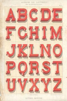 Typeverything.com 1882 lettres. Vintage type. - Typeverything