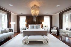 10 dormitorios con una decoración elegante y glamurosa. | Mil Ideas de Decoración