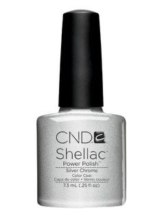 CND Shellac in Silver Chrome - LOVE this! My nails are never without their Shellac!