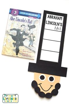 This Presidents' Day pack is the perfect ELA unit for the week of Presidents' Day.  It's full of Presidents' Day crafts, Presidents' Day activities, and has a focus on identifying key ideas and details in text.  Great for kindergarten through second grade.  Presidents Day craft | art | education | Abraham Lincoln craft