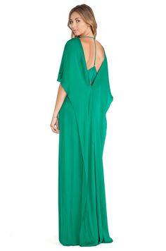 #REVOLVEclothing SHEER INSET GOWN HALSTON HERITAGE $595.00