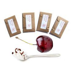 4 Bing Cherry Blush Scented Envelope Sachets by pebblecreekcandles,