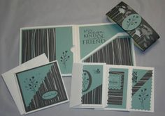 friend to friend birthday packet by Sharmill - Cards and Paper Crafts at Splitcoaststampers