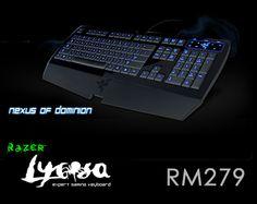 Razer Lycosa Gaming Keyboard - $91 / RM279